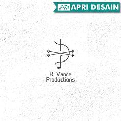 Desain Logo Music Production - K. Vance Productions by ApriDesain.id  Pesan Desain Call/SMS/WhatsApp : 0812-9605-6898