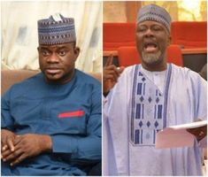 'Leave me out of your police problems' – Governor Yahaya Bello tells Dino Melaye