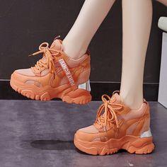 High Heel Sneakers, Sneaker Heels, Girls Sneakers, Girls Shoes, Fancy Shoes, Trendy Shoes, Cute Shoes, Fashion Boots, Sneakers Fashion