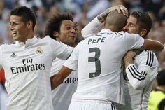 Real Madrid derrotó al Barcelona con gran actuación de James