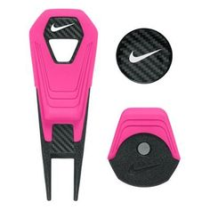 Nike CVX Lite Repair Tool and Hat Clip with Ball Marker - Pink Pow/White/Black