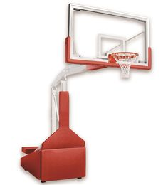 First Team Hurricane Triumph ST Indoor Portable Basketball Hoop 72 inch Unbreakable Competition Glass from NJ Swingsets