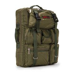 3 Way Backpack Multi Bag for Laptop Mens Rucksack CRAZY 715