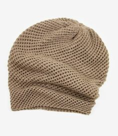 Crosshatch Knit Beanie $20