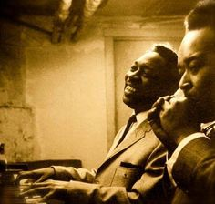 Chicago blues immortals, Otis Spann and James Cotton. Sound Of Music, Music Love, My Music, Music Pics, Music Photo, Music Images, Jazz Blues, Blues Music, Blues Artists