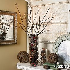 Brown Lighted Branches - Oriental Trading