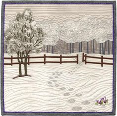 A whisper of spring by Charlotte Warr Andersen.  Celebrity auction quilt, AAQI
