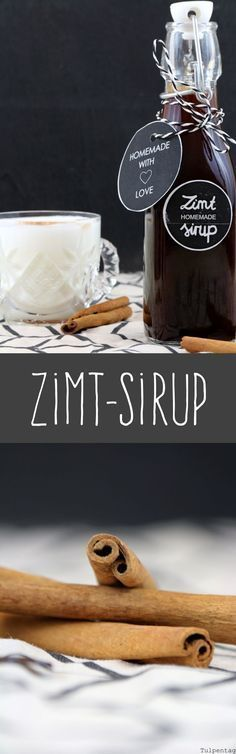 Gift from the kitchen {Freebie The post Cinnamon syrup. Gift from the kitchen and a freebie & Rezepte appeared first on Food . Cute Gifs, Weigt Watchers, Cinnamon Syrup, Cocktail Drinks, Cocktails, Food Gifts, Diy Food, Homemade Gifts, Food Inspiration