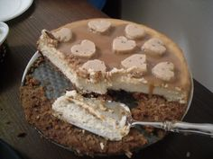 Cheesecake. I think it is the goat cheese one