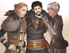 dragon age anders romance art - Google Search