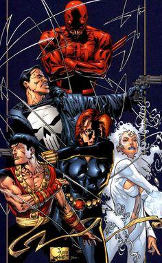 Marvel Knights (Ongoing Series: Black Panther, Daredevil, Electra, The Punisher, Doctor Strange, Sensational Spider-man)