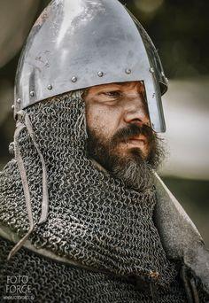 Single piece with nasal Medieval World, Medieval Knight, Medieval Armor, Medieval Fantasy, Dark Fantasy, Viking Armor, Arm Armor, Knights Hospitaller, Knights Templar