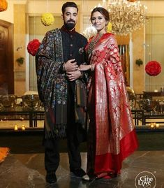 7 Non-Celebrity Brides Who Nailed Saree Reception Look Flawlessly! Couple Wedding Dress, Groom Wedding Dress, Saree Wedding, Bride Groom, Marathi Bride, Bengali Bride, Bengali Bridal Makeup, Indian Bridal Sarees, Indian Wedding Outfits