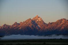 Grand Teton at sunrise