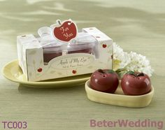 Aliexpress Baby showers wholesale TC003(10pcs, 5set)Apple of My Eye Ceramic Salt and Pepper Shakers use as Wedding Favor on AliExpress.com. 5% off $9.50