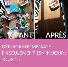 Jour 15 du défi #GRANDMENAGE : aujourd'hui, Séverine vous révèle ses astuces pour désencombrer le salon ! Suivez jour après jour le défi #GRANDMENAGE de la rédac' : http://www.deco.fr/nettoyage/actualite-769410-defi-menage-15-minutes.html