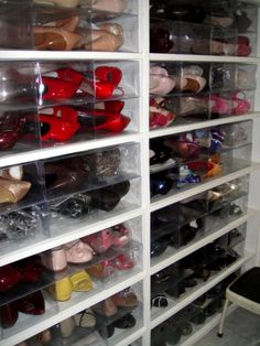 perfect clear shoe boxes