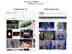 "See what China sees when it searches for ""Tiananmen"" and other loaded terms"
