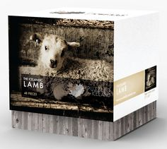 The Icelandic Lamb - Puzzled by Iceland - 48 pieces of the cutest Icelandic lamb. Icelandic jigsaw puzzle.
