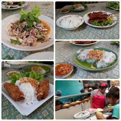 Vietnamese restaurant at the weekend market   Thailand Travel Blog http://blog.apllc-connect.com/ #Thailand #travel #photo #photography