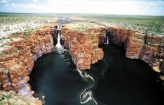 Gorges of the Mitchell, King George, Prince Regent, and Hunter Rivers in The Kimberly, Western Australia