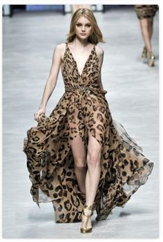 that high-low leopard dress though...