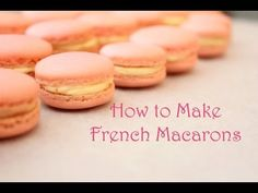 ▶ How to Make French Macarons - This little girl makes it look so easy. She sounds so sweet too.