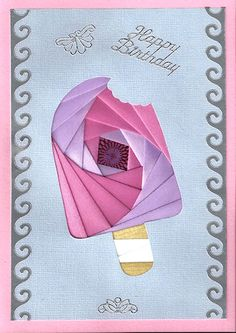 popsicle free iris folding patterns  visit me at My Personal blog: http://stampingwithbibiana.blogspot.com/