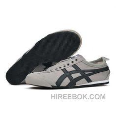 Mexico 66 Th331l-1390 Mens Grey Black Authentic 025712e37