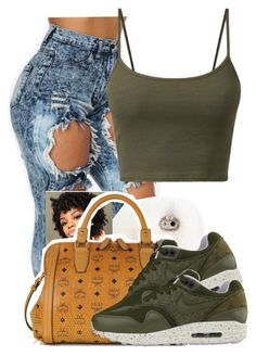 """Summer"" by danimack03 ❤ liked on Polyvore featuring MCM and NIKE"