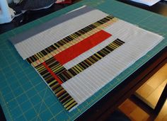 The Quilting Edge: Tutorial/QAYG # 2/Prepping and Quilting the Blocks...This is what your block should look like if you have followed my Tutorial/QAYG #1/Making the Blocks.