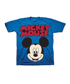 Look at this #zulilyfind! Blue 'Mickey Mouse' Tee - Toddler #zulilyfinds