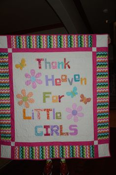 Three Little Girls -  pattern from Quilt Word Book