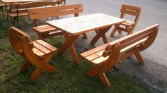 Erfurt - 160 fa kerti bútor szett