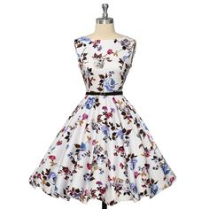 Womens plus size clothing Audrey hepburn 50s Vintage robe Rockabilly Dresses Summer style Retro Swing Casual print Vestidos 2016