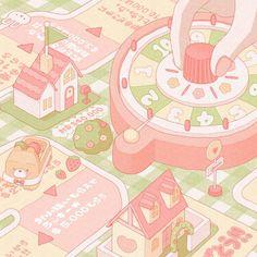 Cute Pastel Wallpaper, Anime Scenery Wallpaper, Cute Anime Wallpaper, Soft Wallpaper, Kawaii Drawings, Cute Drawings, Kawaii Art, Kawaii Anime, Aesthetic Art