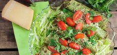 Grønkålspandekager med fyld