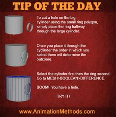 Boolean in Maya The Ring Two, Modeling Tips, Tip Of The Day, Small Rings, Maya, The Selection, Tutorials, Drawing, Tiny Rings