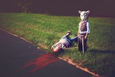 Lindy Christopher | Blog: Fine Art Photography by Lindy Christopher horror creepy kid art mask