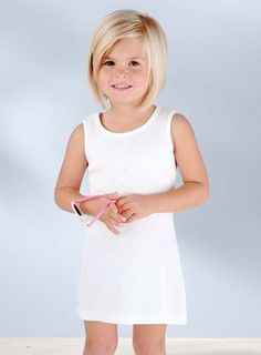 This is such a cute haircut for a little girl