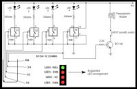 Electrical and Electronics Engineering: Water level controller circuit diagram