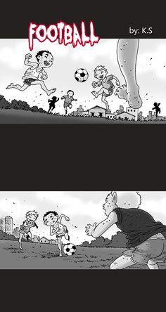 Silent Horror Z :: Football | Tapastic Comics - image 1