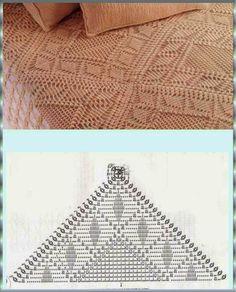 .: Colchas em crochê, um espetáculo de bom gosto