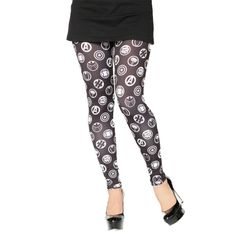 #Avengers Icon Leggings from www.HerUniverse.com
