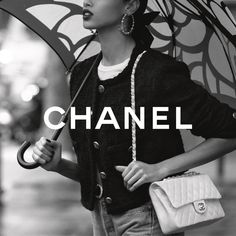 "CHANEL on Instagram: ""The CHANEL iconic bag unites timelessness with modernity without ever losing sight of CHANEL's allure. Photographed by Inez & Vinoodh.…"" Chanel Official Website, Chanel Logo, Logo Background, Absolutely Fabulous, New Pins, Luxury Branding, Editorial Fashion, High Fashion, Chanel Fashion"