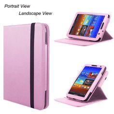 Poetic 360 Degree Rotary Leather Case for Samsung Galaxy Tab 7 0 Plus Light Pink | eBay