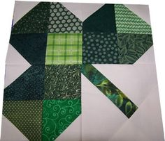 I am going to make a table runner for St. Patrick's day using this pattern.  I will post pics when it is complete.