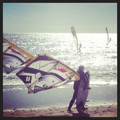 windy day in Tarifa