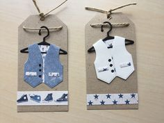 tag card vest man men´s clothes Marianne design suit ---- Pia Jensen kort Happy Birthday Man, Suit Card, New Baby Cards, Man Men, Baby Shower Cards, Marianne Design, Masculine Cards, Craft Fairs, Gift Tags