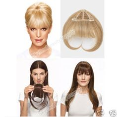 I'm obsessed with fake hair! And these Bangs are the next thing I am getting!!